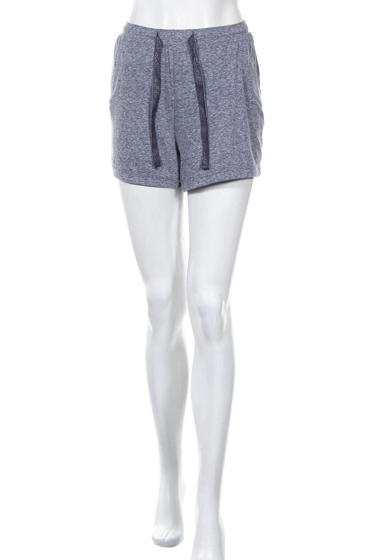 Γυναικείο κοντό παντελόνι S.Oliver, Μέγεθος L, Χρώμα Μπλέ, 50% πολυεστέρας, 38% βαμβάκι, 12% βισκόζη, Τιμή 15,59€