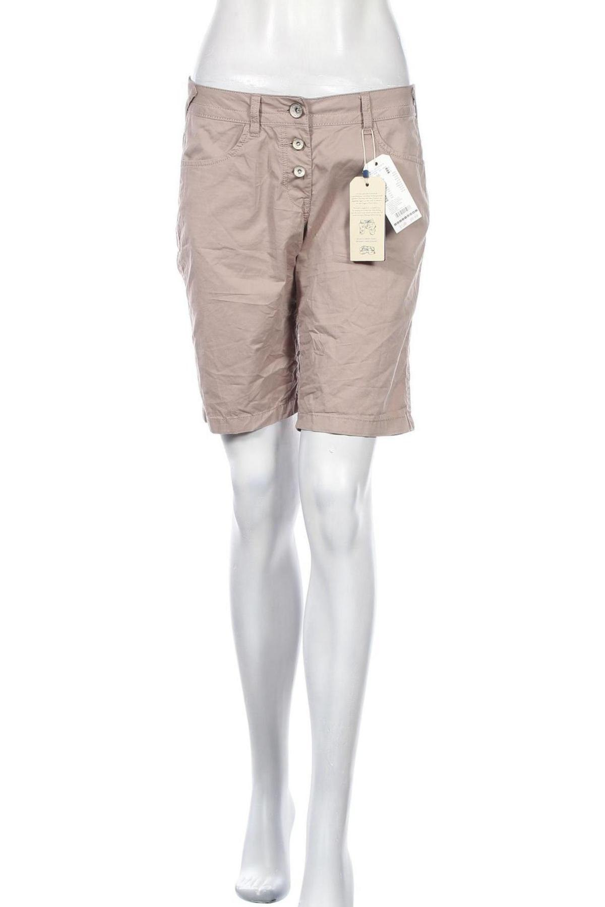 Γυναικείο κοντό παντελόνι Tom Tailor, Μέγεθος S, Χρώμα Ρόζ , Βαμβάκι, Τιμή 24,19€