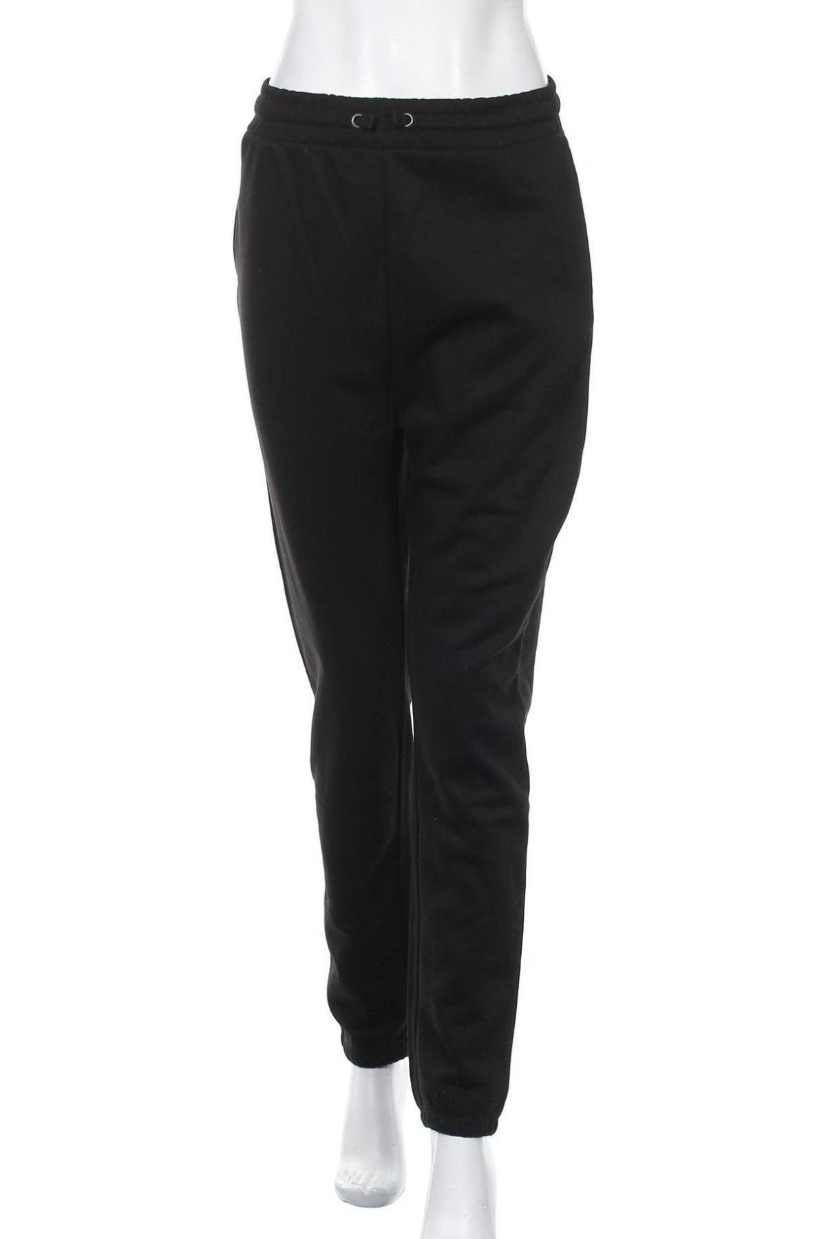 Γυναικείο αθλητικό παντελόνι Even&Odd, Μέγεθος M, Χρώμα Μαύρο, 50% βαμβάκι, 50% πολυεστέρας, Τιμή 14,69€