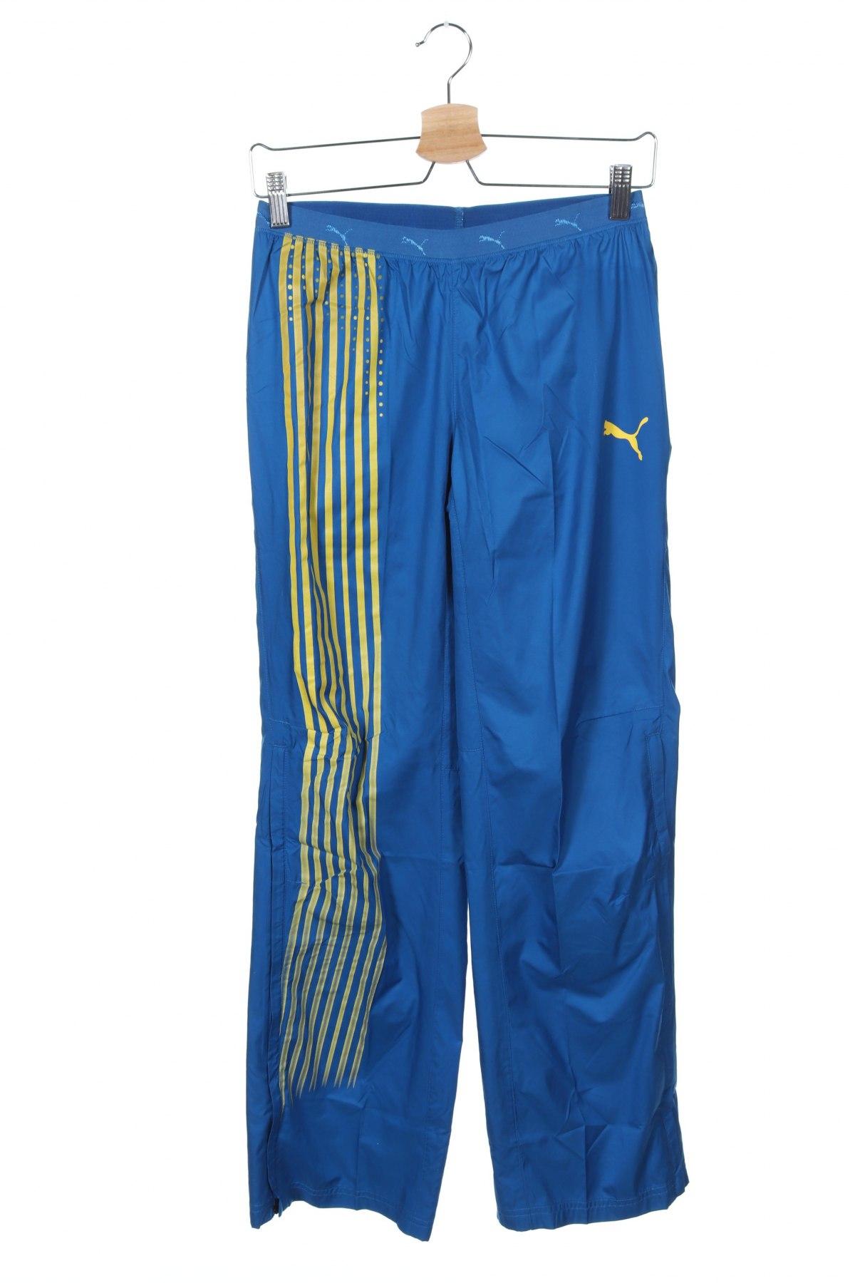 Γυναικείο αθλητικό παντελόνι PUMA, Μέγεθος XS, Χρώμα Μπλέ, Πολυεστέρας, Τιμή 27,21€