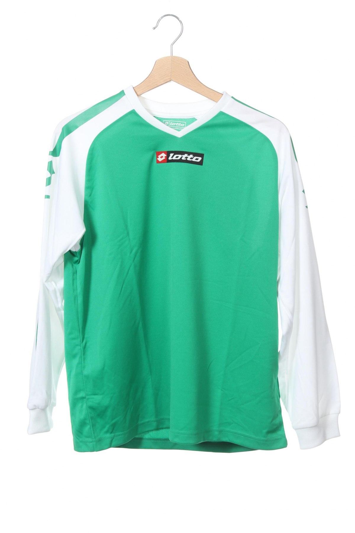 Παιδική μπλούζα αθλητική Lotto, Μέγεθος 13-14y/ 164-168 εκ., Χρώμα Πράσινο, 100% πολυεστέρας, Τιμή 8,66€