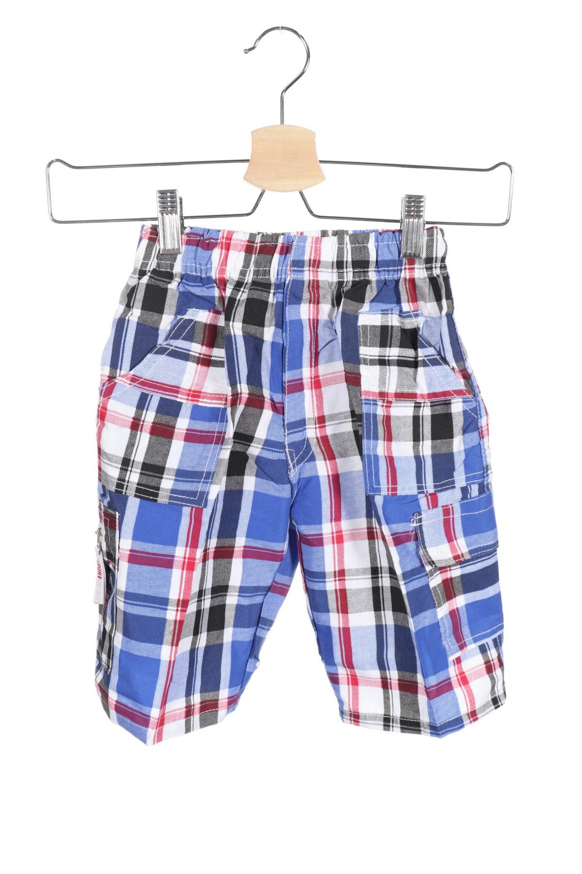 Παιδικό κοντό παντελόνι, Μέγεθος 3-4y/ 104-110 εκ., Χρώμα Πολύχρωμο, Πολυεστέρας, Τιμή 9,38€