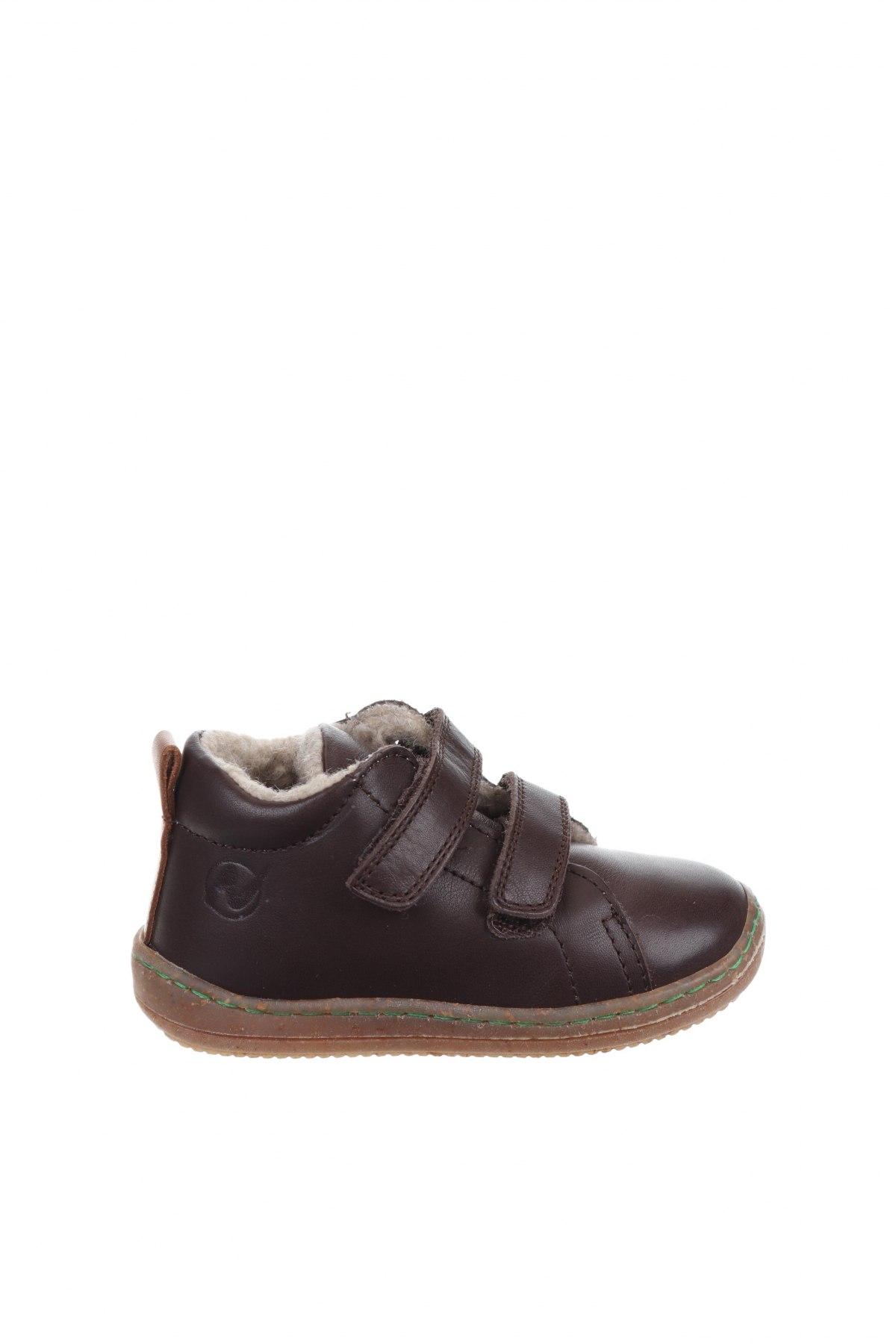 Παιδικά παπούτσια Naturino, Μέγεθος 21, Χρώμα Καφέ, Γνήσιο δέρμα, Τιμή 30,81€