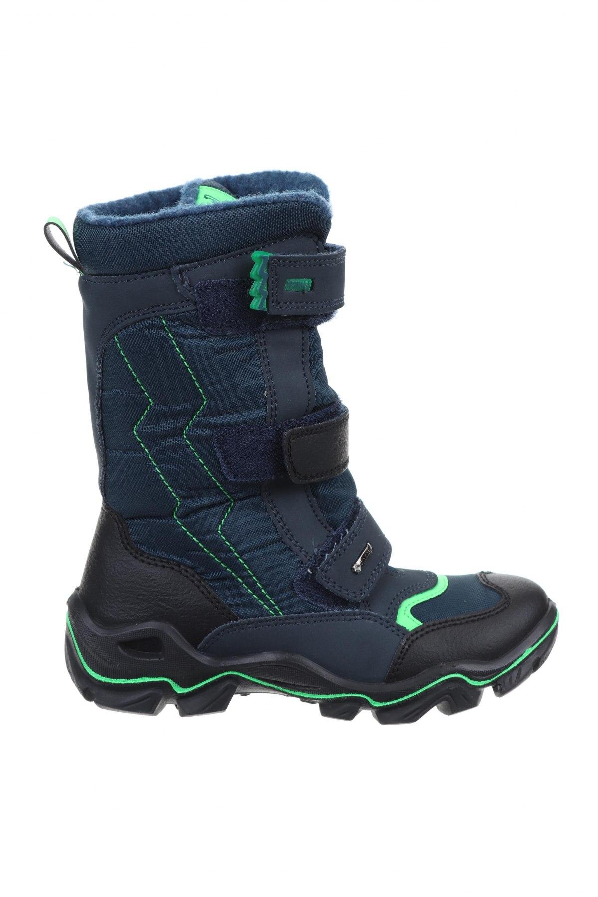 Παιδικά παπούτσια Primigi, Μέγεθος 33, Χρώμα Μπλέ, Κλωστοϋφαντουργικά προϊόντα, δερματίνη, Τιμή 29,78€