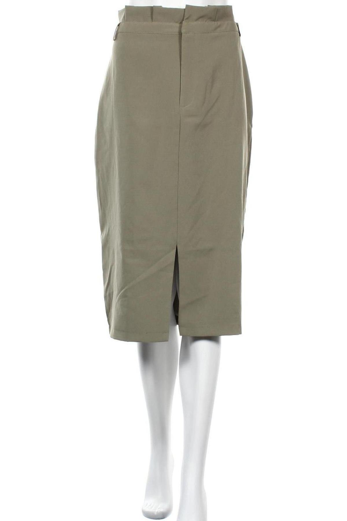 Пола 4th & Reckless, Размер XL, Цвят Зелен, 91% полиестер, 9% еластан, Цена 22,36лв.