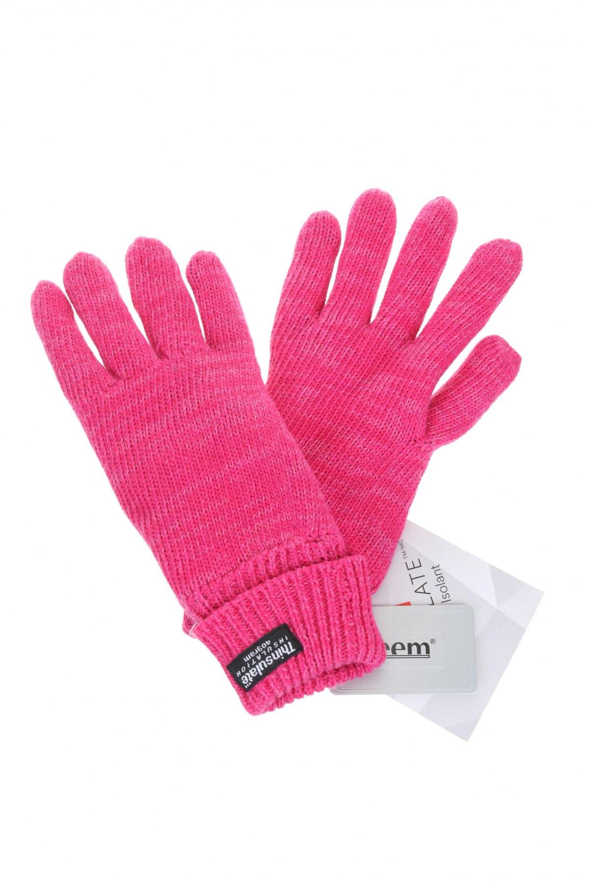Γάντια Eem, Χρώμα Ρόζ , Βαμβάκι, Τιμή 10,89€