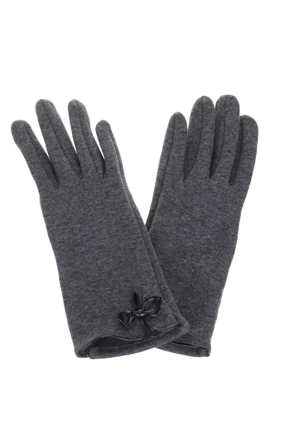 Γάντια Eem, Χρώμα Γκρί, Βαμβάκι, Τιμή 7,44€
