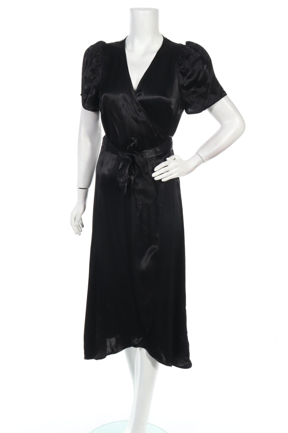 Φόρεμα Just Female, Μέγεθος S, Χρώμα Μαύρο, Βισκόζη, Τιμή 73,07€
