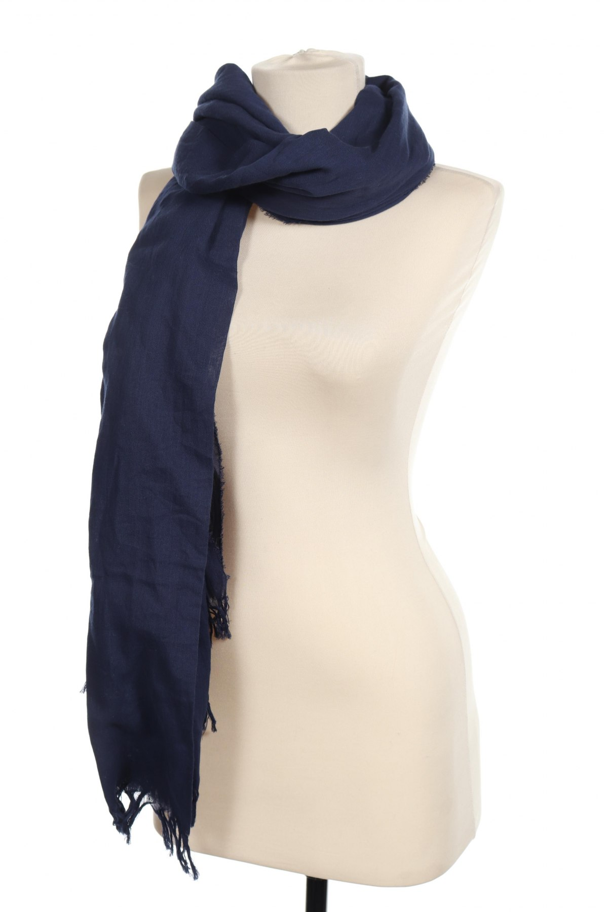 Κασκόλ Christian Berg, Χρώμα Μπλέ, Βαμβάκι, Τιμή 5,77€