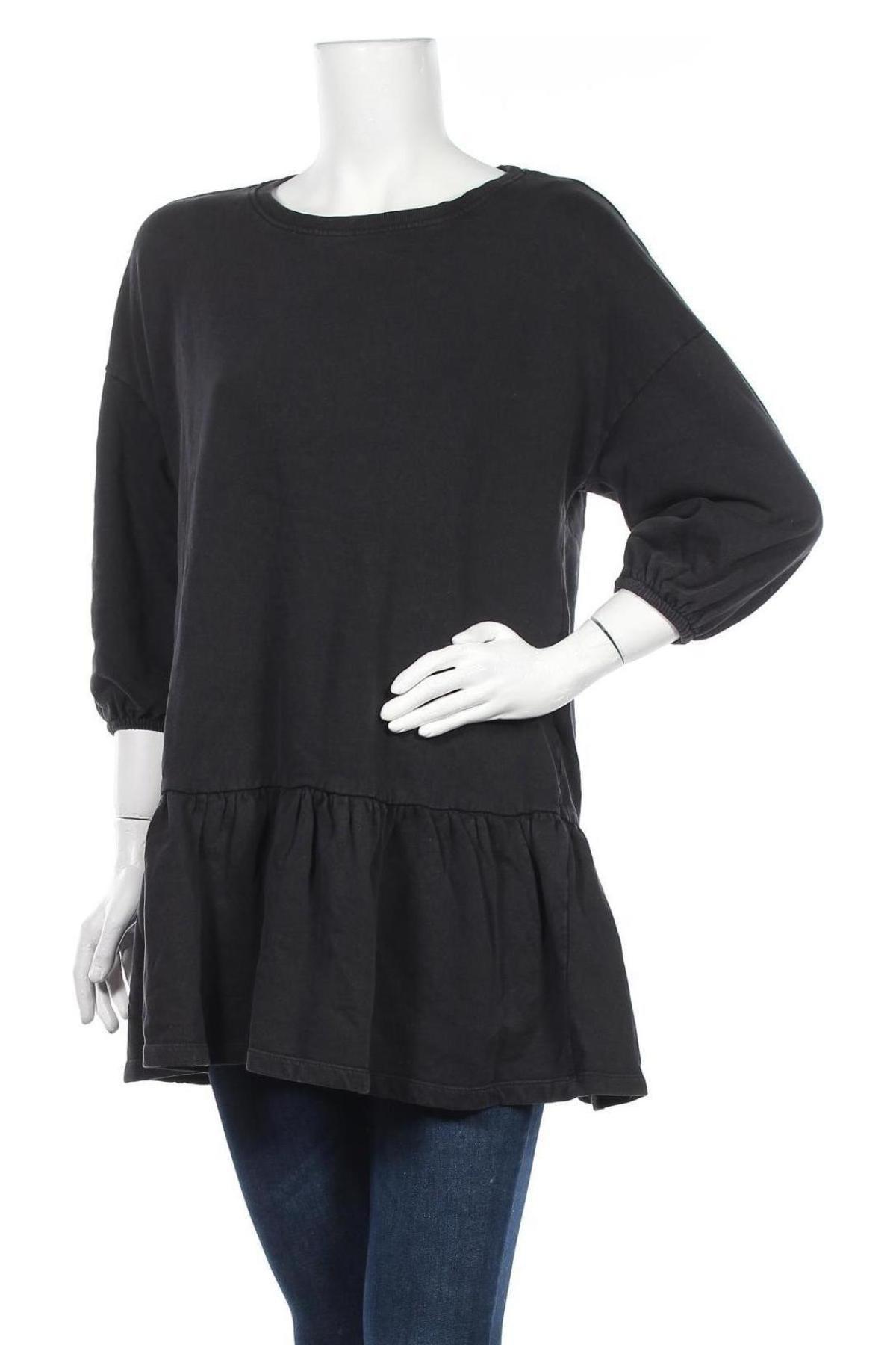 Τουνίκ ONLY, Μέγεθος L, Χρώμα Μαύρο, Βαμβάκι, Τιμή 14,60€