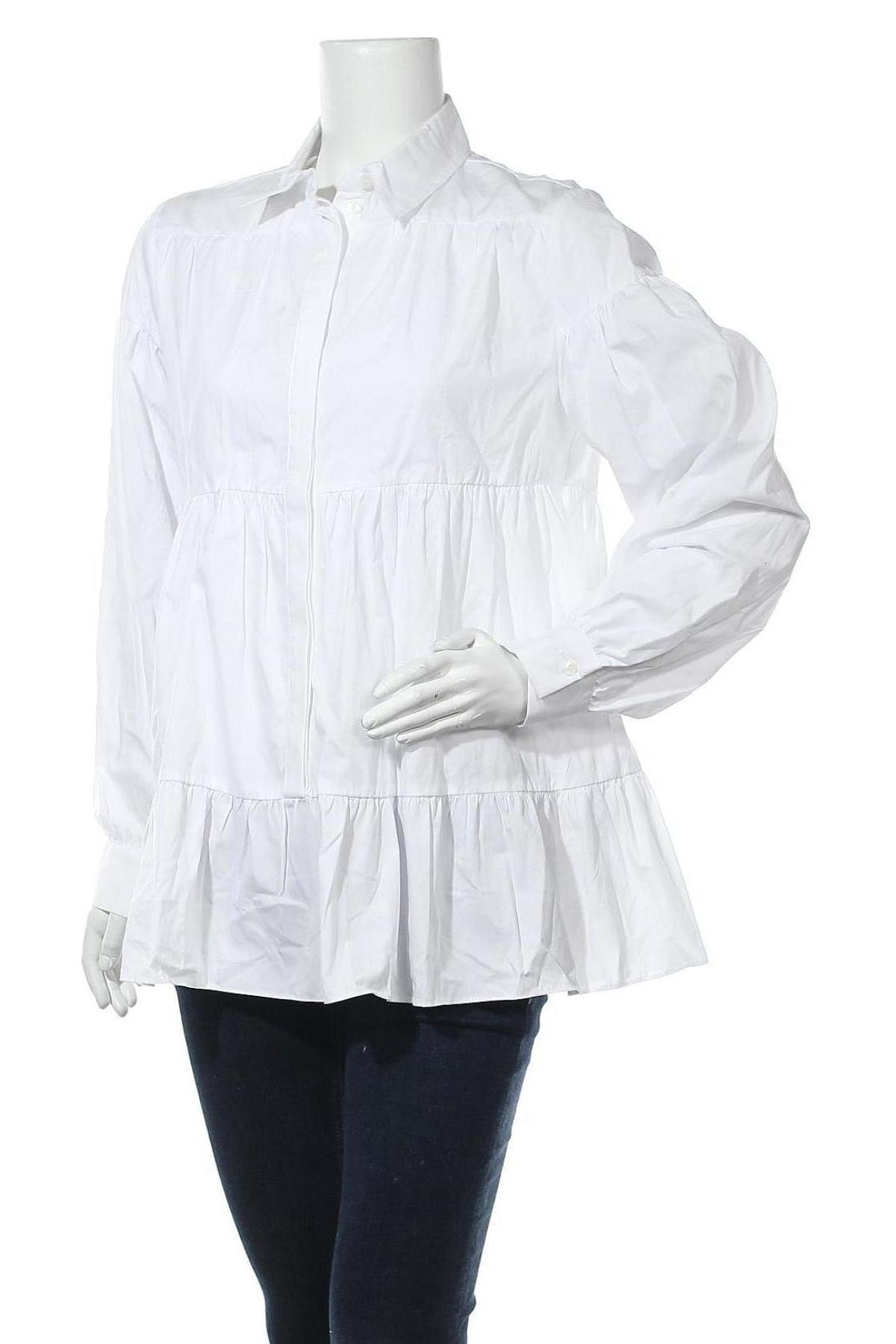 Τουνίκ Topshop, Μέγεθος L, Χρώμα Λευκό, Βαμβάκι, Τιμή 20,63€