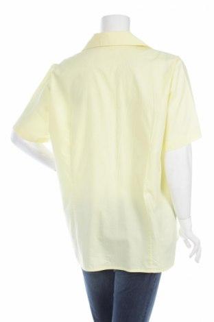Γυναικείο πουκάμισο, Μέγεθος XL, Χρώμα Κίτρινο, 98% βαμβάκι, 2% ελαστάνη, Τιμή 9,28€