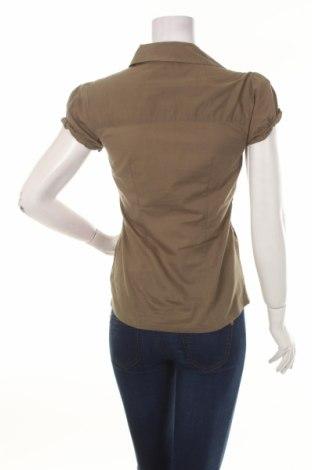 Γυναικείο πουκάμισο Clockhouse, Μέγεθος S, Χρώμα Πράσινο, 100% βαμβάκι, Τιμή 9,90€