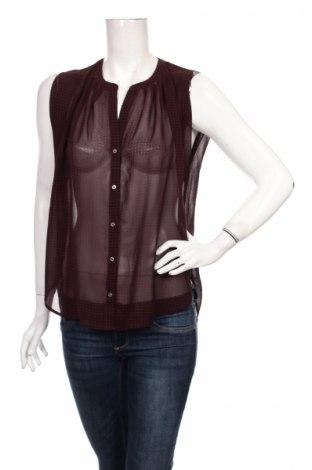 Дамска риза H&M, Размер S, Цвят Червен, 100% полиестер, Цена 15,00лв.