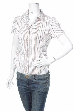 Дамска риза My Own, Размер M, Цвят Многоцветен, 56% полиестер, 40% памук, 4% еластан, Цена 3,50лв.