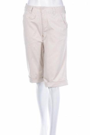 Γυναικείο κοντό παντελόνι Boston Proper, Μέγεθος M, Χρώμα  Μπέζ, 98% βαμβάκι, 2% ελαστάνη, Τιμή 5,72€