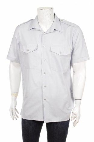 Мъжка риза Weder Meler, Размер L, Цвят Син, 50% памук, 50% полиестер, Цена 3,20лв.