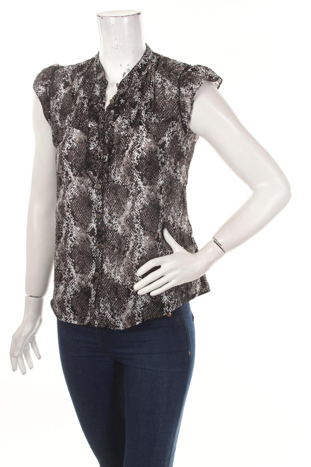 Γυναικείο πουκάμισο Jessica, Μέγεθος S, Χρώμα Πολύχρωμο, 100% πολυεστέρας, Τιμή 9,90€