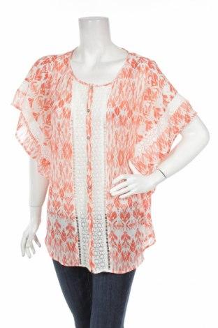 Дамска блуза Daniel Rainn, Размер M, Цвят Оранжев, 100% полиестер, Цена 4,25лв.