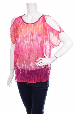 Дамска блуза Express, Размер M, Цвят Многоцветен, 100% полиестер, Цена 2,00лв.