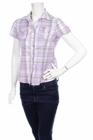 Дамска риза Big Tramp, Размер S, Цвят Лилав, 50% полиестер, 50% памук, Цена 3,00лв.