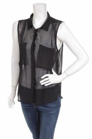 Γυναικείο πουκάμισο Bik Bok, Μέγεθος M, Χρώμα Μαύρο, Τιμή 9,90€