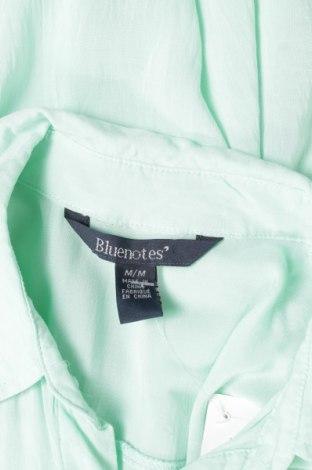 Γυναικείο πουκάμισο Bluenotes, Μέγεθος M, Χρώμα Μπλέ, Βισκόζη, Τιμή 9,28€