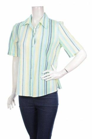 Γυναικείο πουκάμισο Canda, Μέγεθος M, Χρώμα Πολύχρωμο, 55% βισκόζη, 44% πολυεστέρας, 1% ελαστάνη, Τιμή 9,90€