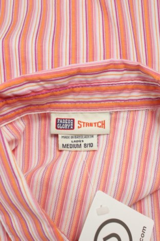 Γυναικείο πουκάμισο Faded Glory, Μέγεθος M, Χρώμα Πολύχρωμο, 58% βαμβάκι, 37% πολυαμίδη, 5% ελαστάνη, Τιμή 11,75€