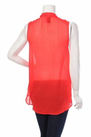 Γυναικείο πουκάμισο H&M, Μέγεθος M, Χρώμα Κόκκινο, Πολυεστέρας, Τιμή 11,13€