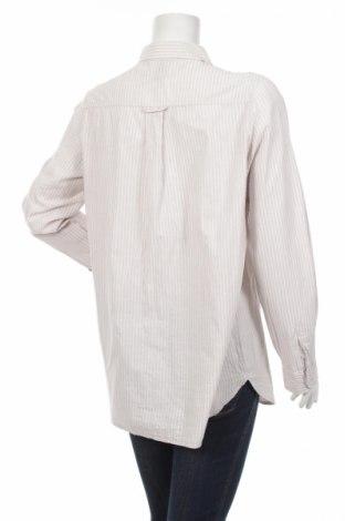Γυναικείο πουκάμισο H&M, Μέγεθος L, Χρώμα Γκρί, Βαμβάκι, Τιμή 18,04€