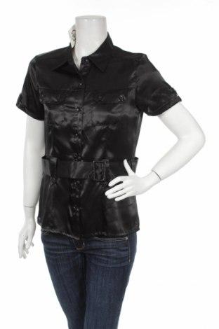 Γυναικείο πουκάμισο Joy, Μέγεθος M, Χρώμα Μαύρο, Τιμή 9,90€