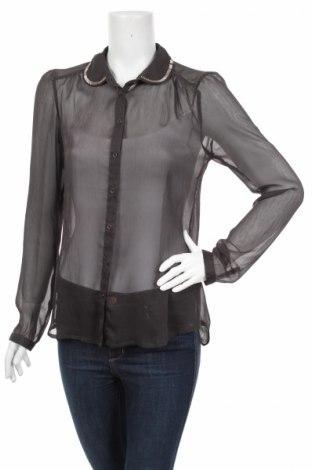 Γυναικείο πουκάμισο Only, Μέγεθος S, Χρώμα Μαύρο, 100% πολυεστέρας, Τιμή 23,71€