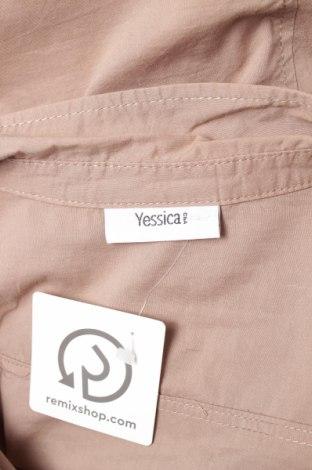 Γυναικείο πουκάμισο Yessica, Μέγεθος XL, Χρώμα Καφέ, Τιμή 14,43€