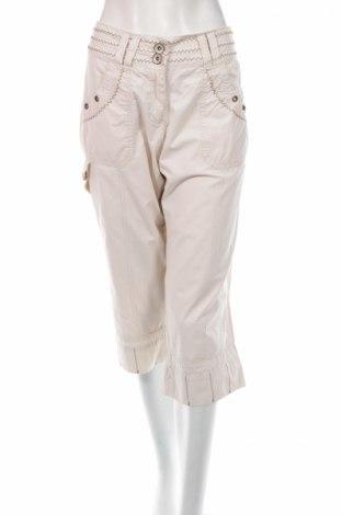 Дамски панталон Shamp, Размер M, Цвят Екрю, Памук, Цена 7,34лв.