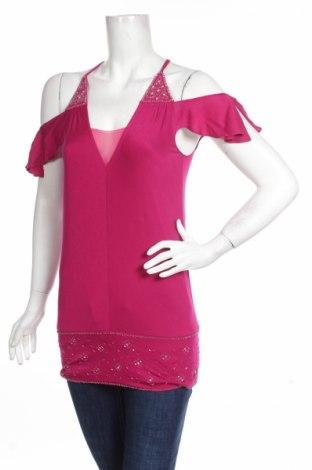 Γυναικείο αμάνικο μπλουζάκι Marciano, Μέγεθος S, Χρώμα Βιολετί, 100% lyocell, Τιμή 15,87€
