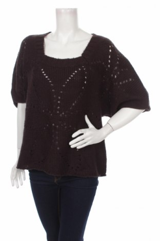 Дамски пуловер Apostrophe, Размер L, Цвят Кафяв, Акрил, Цена 19,20лв.