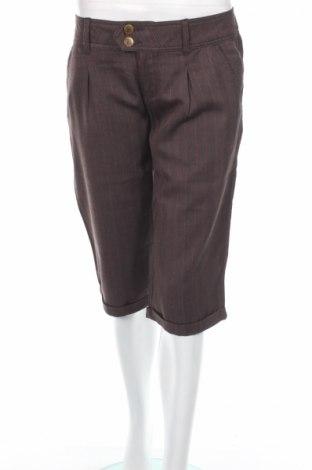 Дамски панталон Fox, Размер L, Цвят Кафяв, 65% полиестер, 35% вискоза, Цена 4,87лв.
