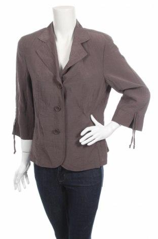 Дамско сако Gelco, Размер L, Цвят Кафяв, 76% полиамид, 24% вискоза, Цена 54,00лв.