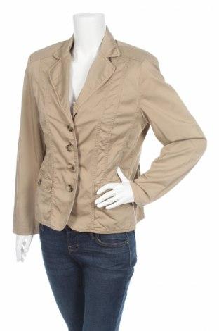 Дамско сако Gerry Weber, Размер L, Цвят Бежов, 100% памук, Цена 15,08лв.