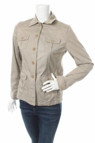 Дамско сако Vivien Caron, Размер M, Цвят Бежов, 97% памук, 3% еластан, Цена 8,37лв.