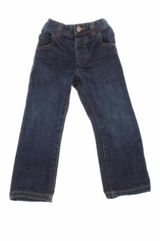 Детски дънки Next, Размер 6-9m/ 68-74 см, Цвят Син, Памук, Цена 5,38лв.