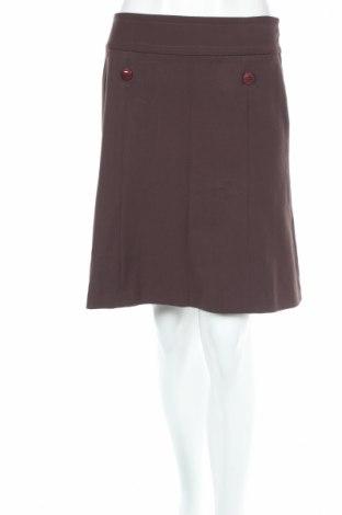 Φούστα Loft By Ann Taylor, Μέγεθος XS, Χρώμα Καφέ, 63% πολυεστέρας, 33% βισκόζη, 4% ελαστάνη, Τιμή 7,71€