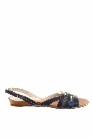 Sandale Lottusse, Mărime 40, Culoare Albastru, Piele naturală, Preț 127,78 Lei