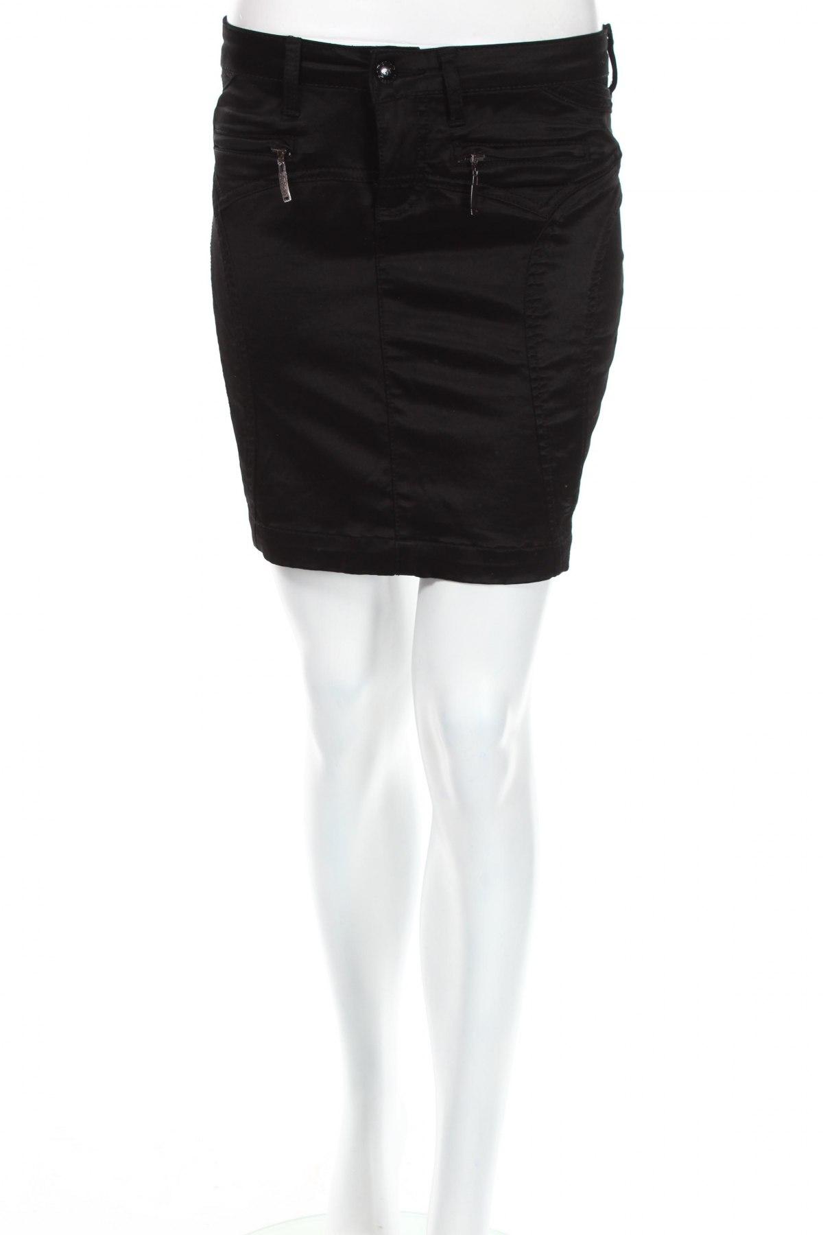 Пола A.m.n Madness National, Размер S, Цвят Черен, 50% памук, 47% други тъкани, 3% еластан, Цена 5,46лв.