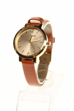 Часовник Cacharel, Цвят Кафяв, Еко кожа, метал, Цена 47,00лв.