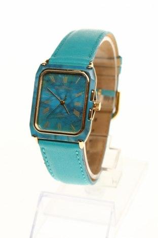Часовник Yonger & Bresson, Цвят Син, Еко кожа, метал, Цена 72,25лв.
