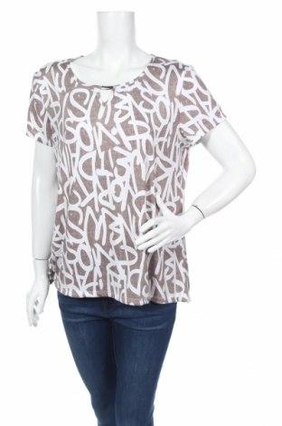 Дамска блуза Armand Thiery, Размер L, Цвят Бежов, 94% полиестер, 6% еластан, Цена 3,94лв.