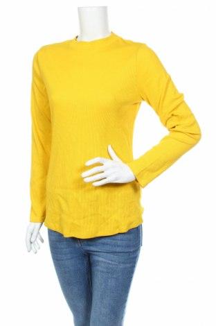 Dámska blúza Camaieu, Veľkosť XL, Farba Žltá, 97% bavlna, 3% elastan, Cena  4,38€