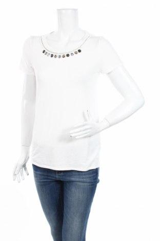 Дамска блуза Liu Jo, Размер L, Цвят Екрю, 94% модал, 6% еластан, Цена 29,90лв.